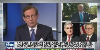 Chris Wallace: 'Barr Acting As Counselor To The President'