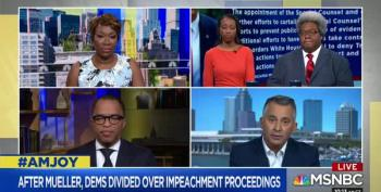 AM Joy Panelist David Jolly Compares Dems To Bill Barr If They Don't Impeach
