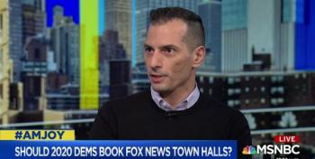 AM Joy Guest: Dem Candidates Should NOT Give Fox News A Lifeline By Appearing In Town Halls