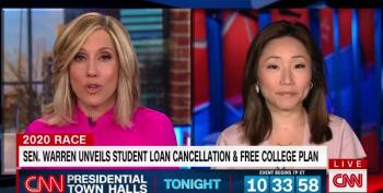 Warren Talks About Her Plan To Wipe Out Most Student Debt