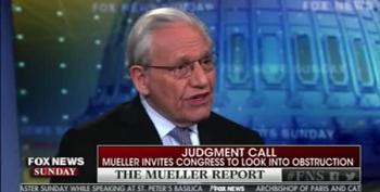 Bob Woodward Skips Over The Collusion-Like Quacking In Mueller Report