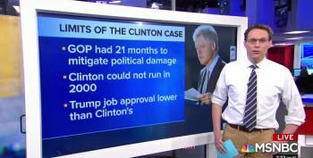 Steve Kornacki Demonstrates Why No Serious Impeachment Effort Should Be Compared To Clinton