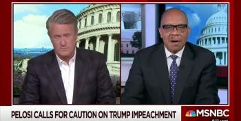 Morning Joe Panelists Argue About Impeachment
