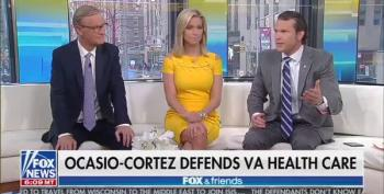 Fox Host Rants About AOC, Calls Her A 'Mindless Moron'
