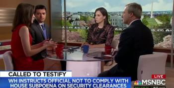 Hallie Jackson's Panel Breaks Down Carl Kline's Refusal To Testify On The Hill