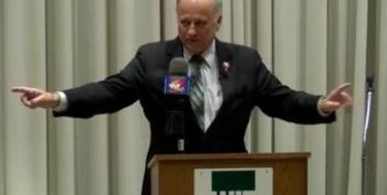 Steve King Compares His Problems With The Cruxification Of Jesus