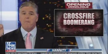 Desperate Hannity Tells Viewers The 'Pee Tape' Is Really Clinton-Lewinsky Phone Sex!