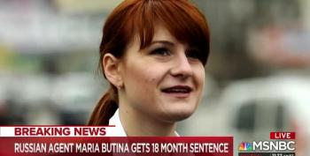 Maria Butina Gets Maximum Sentence