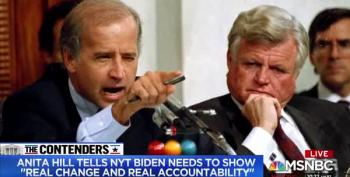 Stop Saying Biden Apologized To Anita Hill