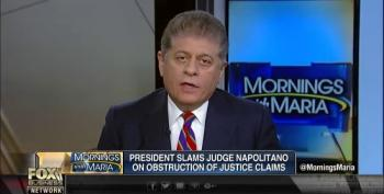 Fox's Judge Napolitano Responds To Trump Bashing Him: Is This How You Treat A Friend?