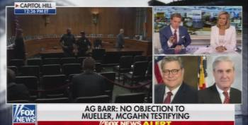 Chris Wallace Pushes Back On Fox's Barr Spin