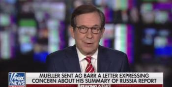 Chris Wallace Chides Fox News Opinionators: 'We Have To Deal In Facts!'