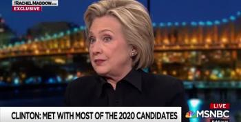 'China, If You're Listening...': Hillary Clinton Predicts More Election Interference