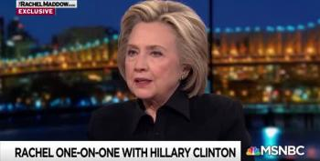 Hillary: Trump's Obsession With Me 'Sign Of A Guilty Conscience'