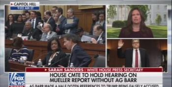 Fox Host Corrects An Unhinged Sarah Huckabee Sanders