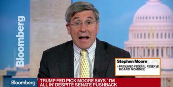 Stephen Moore Bails On Federal Reserve Nomination