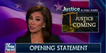 'Judge' Jeanine Pirro Gets Excited At The Thought Of Revenge Investigations