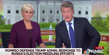 Scarborough Rips Mike Pompeo For Being A Trump Toady