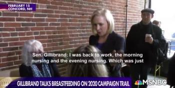 Kirsten Gillibrand Talks Breastfeeding On Campaign Trail
