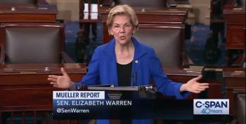 Elizabeth Warren Goes After Trump, McConnell In Fiery Senate Speech
