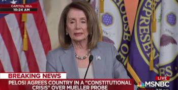 Nancy Pelosi Speaks On Barr, Obstruction, And Impeachment