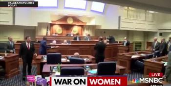 Republicans Hate Women:  Alabama Edition