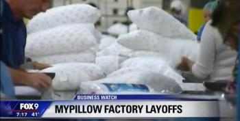 My Pillow Lays Off Another 150 After Championing Trump's Tax Cuts