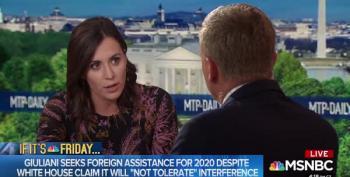 Hallie Jackson Interrogates Trump Campaign Official About Rudy