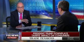 Larry Kudlow Admits To Fox's Chris Wallace That Consumers Pay For Chinese Tariffs