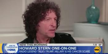"Howard Stern Tells GMA Trump Probably Helped Get Some Women ""A Few Abortions"""
