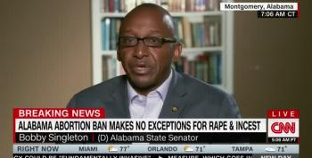 Alabama Senator Bobby Singleton Blows Through Republican Hypocrisy On Abortion Law