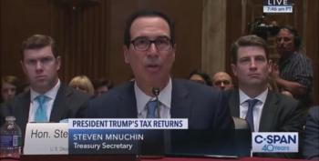 Mnuchin Swears Under Oath He's Not Taking Orders From Trump On Tax Returns