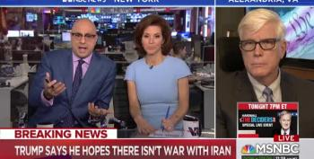 Ali Velshi Calls Hugh Hewitt Out For Dishonesty About Iran