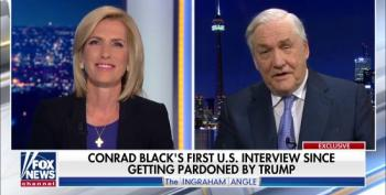 Conrad Black Tells Fox's Laura Ingraham His Book Praising Trump Played No Role In His Pardon