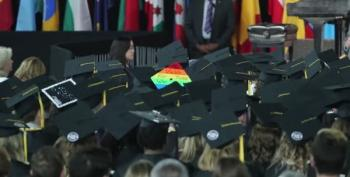 Graduates Walk Out On Mike Pence At Christian University