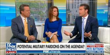 Fox Takes Up For Trump Preparing To Pardon Servicemen Accused Of War Crimes