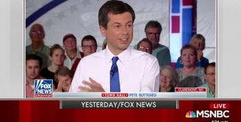Mayor Pete Buttigieg Attacks Fox News Hosts, Morning Joe Swoons