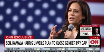 Sen. Harris Rolls Out Policy To Close Gender Pay Gap