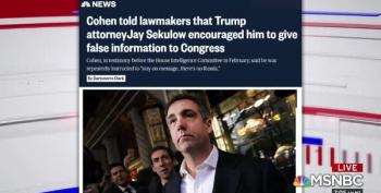 Michael Cohen Congressional Transcripts: Backstage Look At Slimy Trumpworld