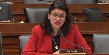 Rashida Tlaib Advises Mnuchin:  Seek Legal Counsel