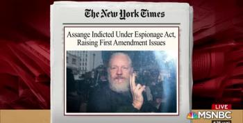Assange Charged Under Espionage Act; Journalists Nervous