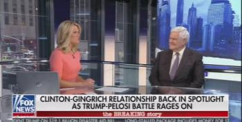 Newt Gingrich: 'I Passed Bills And Impeached Clinton At The Same Time'