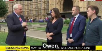 Owen Jones Tells Reporter Who He Feels Sorry For...And It Isn't Theresa May