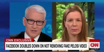 Anderson Cooper Destroys FB Exec: 'Shouldn't You Get Out Of The News Business?'