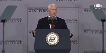 VP Pence Beats The Drums Of War At West Point