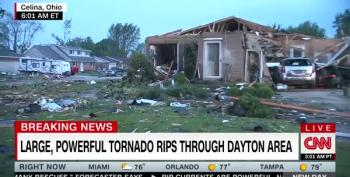 Dayton, Ohio Wakes Up To Catastrophic Damage From Powerful Tornado
