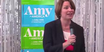 Amy Klobuchar Recalls McCain Reciting Dictator's Names During Trump Inaugural