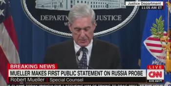 Robert Mueller Blows Trump's 'No Obstruction' Claim Out Of The Water