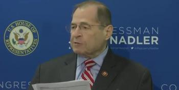 Nadler Responds To Mueller:  Trump Lied, Lied, And Lied