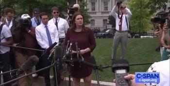 Sarah Sanders Defensive Lies Re Mueller